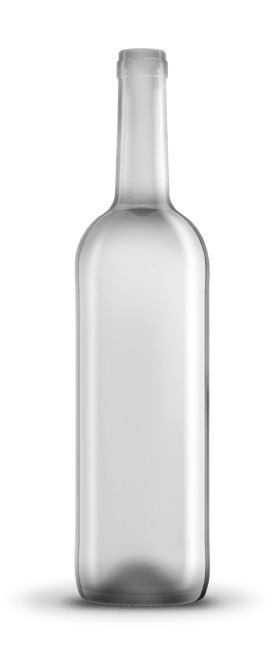 Botella bordelesa 75 cl vidrio oscuro blanco o musgo for Botellas de cristal ikea